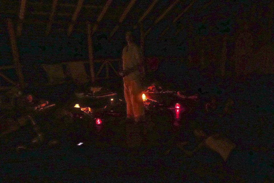 conducting an Acoustic Mandala Soundbath at the Osa Bliss Retreat in  Costa Rica